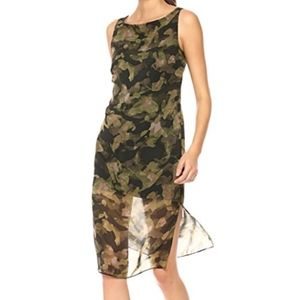 SALE Kenneth Cole Camo Print Dress